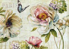 Çiçekler_Lisa Audit Yapımı_(94 Adet)   Dekupaj Desenleri