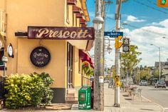 The Prescott in Ottawa's Little Italy Little Italy, Ottawa, Preston, Restaurants, The Past, Real Estate, Street, Real Estates, Restaurant