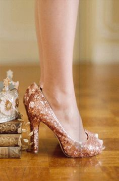 Sparkly shoes :)