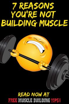 Spending hours in the gym and eating right but still not building muscle? Discover the top 7 reasons you aren't building muscle and how you can start building muscle fast. Food To Gain Muscle, Build Muscle Fast, Muscle Building Supplements, Muscle Building Workouts, Fitness Tips, Fitness Motivation, Health Fitness, How To Increase Muscle, Hypertrophy Training