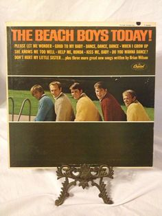 Vintage Record The Beach Boys Album T 2269 by FloridaFinders, $15.00