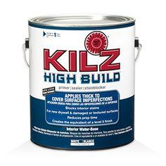 High build primer for grainy oak cabinets KILZ® HIGH BUILD - Primers, Specialty Paints & Concrete Care Products - KILZ®