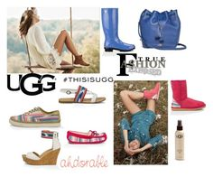 """Play With Prints In UGG, Contest Entry, #THISISUGG"" by freida-adams ❤ liked on Polyvore featuring UGG Australia"
