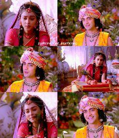 How was guys today's episode 😞😞😞 . Radha Krishna Love Quotes, Radha Krishna Pictures, Radha Krishna Photo, Krishna Photos, Radhe Krishna, Lord Rama Images, Chocolate Boys, Shayari Image, Today Episode