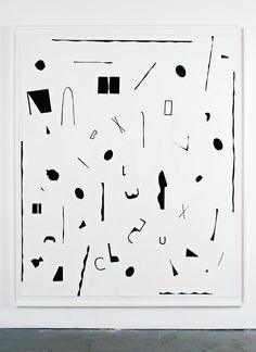 "Lisa Williamson [USA] (b 1977) ~ ""As a Beer Mat and a Cutting Board"", 2010. Acrylic on linen (178 x 146 cm). | b | #art #paining #minimalart"