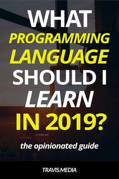 Computer Programming: What programming language should I learn in Basic Computer Programming, Learn Computer Coding, Computer Programming Languages, Coding Languages, Learn Programming, Python Programming, Computer Science, Learn Coding, Coding Tutorials