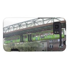 Green Wuppertal Floating Train Schwebebahn Zoo HTC Vivid Covers