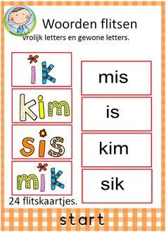 Spellepakket start. Mooi pakket met 12 verschillende spelletjes. Leuk te gebruiken in groep 3 bij VLL kim versie. Woorden flitsen. Vrolijke en gewone woorden.