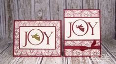 These elegant Joyful Nativity Cards are easy to make and beautiful to look at. Impress your friends by sending them one this Christmas!