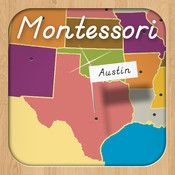 Montessori Approach To Geography HD- United States Capitals