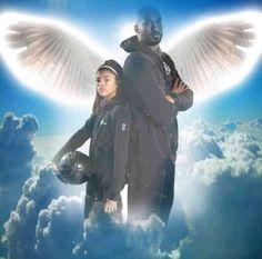 We miss you Gigi and Kobe :( Kobe Bryant And Wife, Kobe Bryant Daughters, Kobe Bryant Family, Lakers Kobe Bryant, Basketball Art, Basketball Pictures, Basketball Posters, Basketball Quotes, Basketball Drills