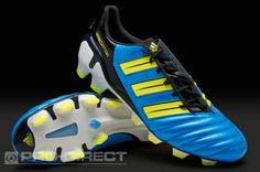 85a2700ad11 adidas adipower Predator TRX FG Boots - Blue Electricity Adidas Soccer Shoes