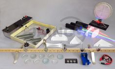 Each experiments designed to enhance the instruction of Waves and Light lessons......