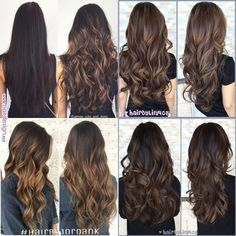 Pin by Madeline kilgore on Fall hair? in 2019 Pin by Madeline kilgore on Fall hair? Brown Hair Balayage, Brown Blonde Hair, Hair Color Balayage, Hair Color For Black Hair, Brown Hair Colors, Brunette Hair, Hair Highlights, Chocolate Brown Hair With Highlights, Bayalage Brunette