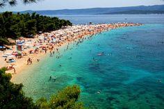 Strand Küste blaues Meer Europa familienfreundliche Reiseziele Kroatien