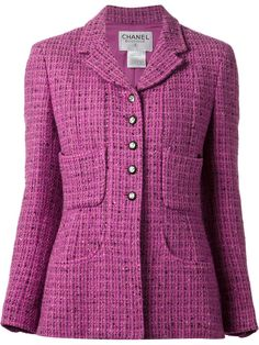 Chanel Vintage Four Pocket Jacket - What Goes Around Comes Around - Farfetch.com