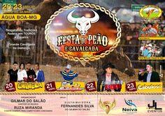 #News  Água Boa terá festa do peão e cavalgada em abril