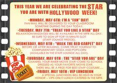 Idea for teacher appreciation week