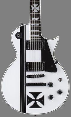 GuitarQueue - 2014 ESP LTD James Hetfield Iron Cross Electric Guitar http://guitarqueue.com/2014-esp-ltd-james-hetfield-iron-cross-electric-guitar/