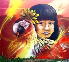 Social Art, Banksy, Graffiti, Korea, Deco, Painting, Saints, Urban Art, Culture