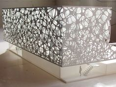 Usa Cnc Cut Modern Decorative Metal Fence Used For Exterior Wall Design , Find C. Trendy Furniture, Diy Pallet Furniture, Metal Furniture, Furniture Decor, Parametric Architecture, Parametric Design, Architecture Design, Architecture Models, Exterior Wall Design