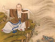 Zhang Sanfeng was usually regarded as the founder of Tai Chi. The legend goes that he created Tai Chi by observing a fight between a snake and a crane in Wu-dang Mountains.