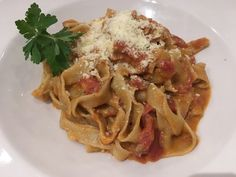 Centonove's Sumptuous Pappardelle Bolognese in Los Gatos, California via FoodWaterShoes