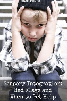 sensory red flags – behaviors related to sensory integration that might indicate that it's time to get some expert advice to help support your child's sensory needs.  #sensory #SPD #asd #childdevelopment