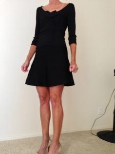 Save almost 90% on this wonderful Herve Leger top and a-line skirt set! $300
