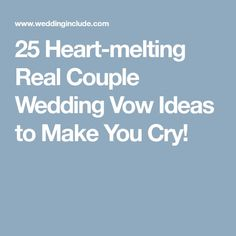 Funny Wedding Vows Make Your Guests Happy-cry | Funny wedding vows ...