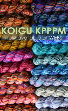 How do you like to play with Koigu KPPPM yarn?