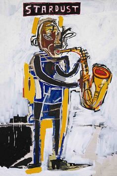Jean-Michel Basquiat (December 1960 – August was an American artist. He began as an obscure graffiti artist in New York C. Jean Basquiat, Jean Michel Basquiat Art, Pop Art, Graffiti, Keith Haring, Basquiat Paintings, Art Brut, Art Moderne, Outsider Art