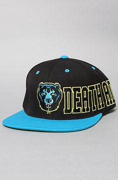 The D.A. Pinnacle Snapback Cap in Black by Mishka