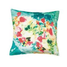 Summer Splash Throw Pillow