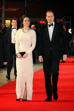 "06 DECEMBER 2013 Prince William and Catherine, Duchess of Cambridge attended the Royal film performance of ""Mandela: Long Walk to Freedom"" in London."