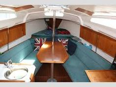 Boat Interior Design Ideas restored 1910 dutch barge river thames at hampton court interior design stephen male 1993 houseboat livinghouseboat ideasdutch bargeboat Boat Interior For Sale Google Search
