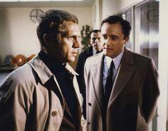 Steve McQueen, Robert Vaughn | Bullitt | 1968 | as Frank Bullitt