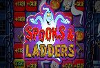 There are many online #slot machine games available in c#ountless variations, but sometimes it's nice to find one that is designed with the basics which made the slots #fun to play in the first place.  Microgaming's #SpooksAndLadders slot is one such game, as it personifies all that a player would need or want in a reel slot.