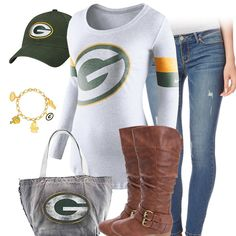 Cute Green Bay Packers Outfit