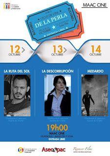 Ciclo de Cine de la Perla. 12 13 14 de Octubre.