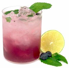 Blueberry Mojito (and other drinks)