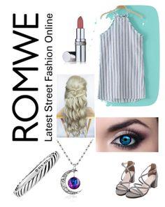 """Romwe 2"" by aidyn-nuske ❤ liked on Polyvore featuring La Prairie and David Yurman"