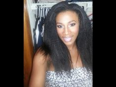 http://www.youtube.com/watch?v=BpmSVNd9uf4 - kinky straight hair Natural Hair Extensions For Black Women has gotten even more popular. African american women are natural hair fiends now, since this hair transition allows women of color to grown their hair without any chemical treatment. Please share this video and look at the kinky straight hair texture. https://www.facebook.com/bestfiver/posts/1430681073811530