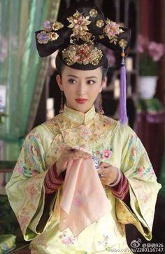 Chinese period drama series 'Royal Romance'.