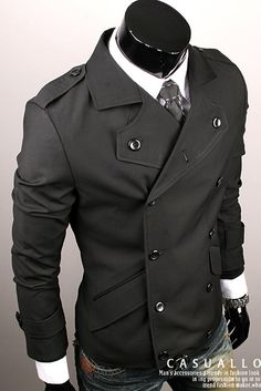 kanacca -  the jacket is a great look with the tie, jeans and watch. Clean with a pair of black upscale loafers.