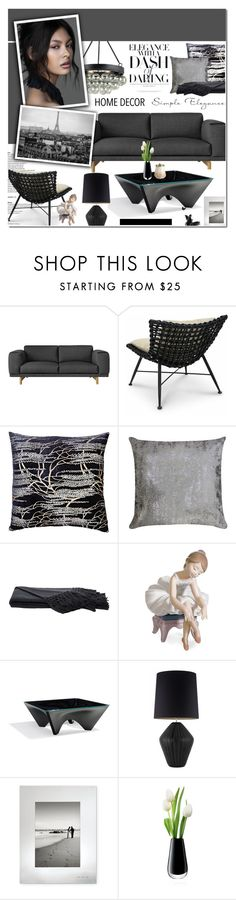 """""""Home- Template contest"""" by cly88 ❤ liked on Polyvore featuring interior, interiors, interior design, home, home decor, interior decorating, Palecek, Currey & Company, Kevin O'Brien and Eos"""