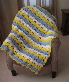 Little Prince Afghan ~ free pattern