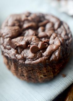 Healthy 3 Ingredient Chocolate Muffins – Recipe Diaries
