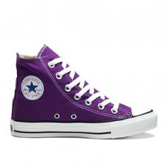 Purple Chuck Taylor All Star Hi Tops #cheap #Sneakers