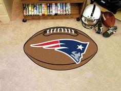 "NFL - New England Patriots Football Rug 20.5""x32.5"""